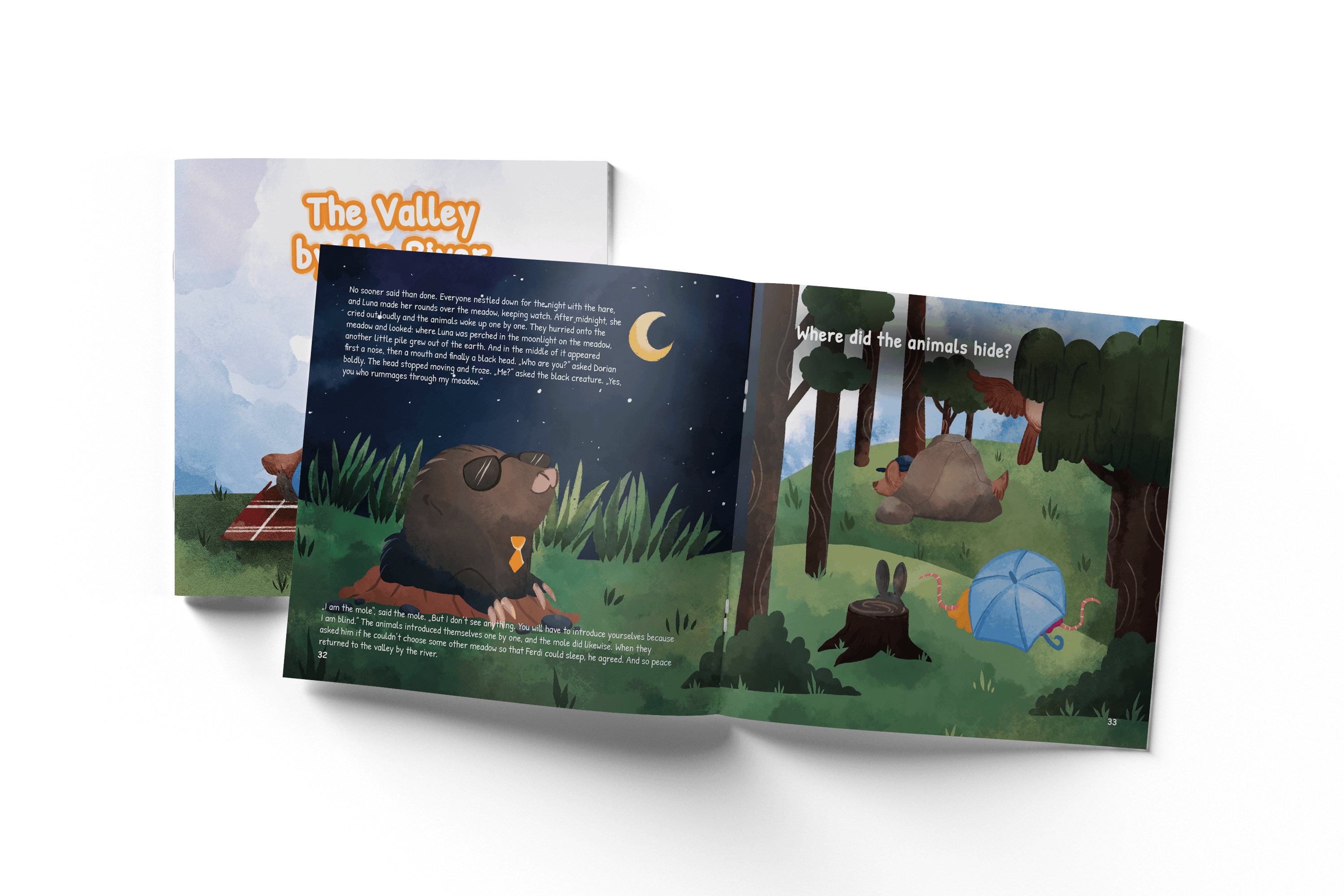 Our first book - The Valley by the River - Children´s book