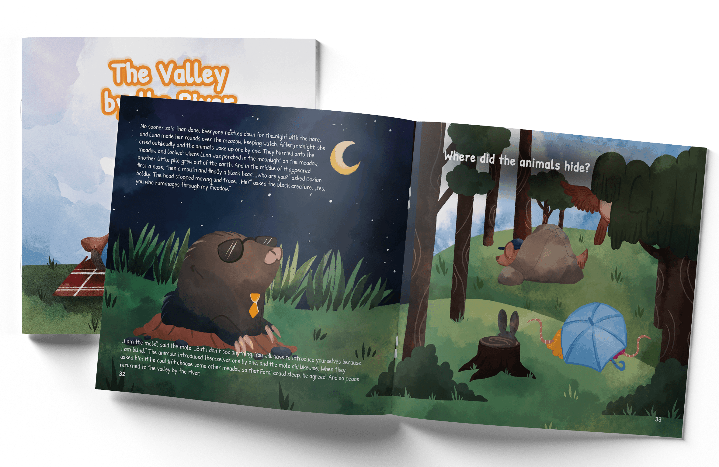 La vallée près de la rivière - Nouveau livre pour enfants