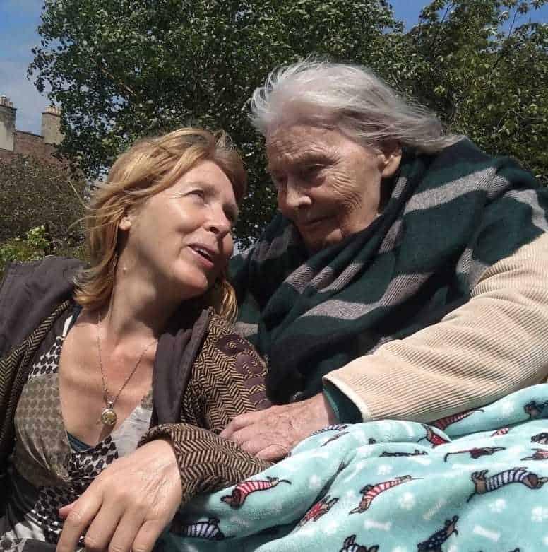 Jenny England and Joan Lingard
